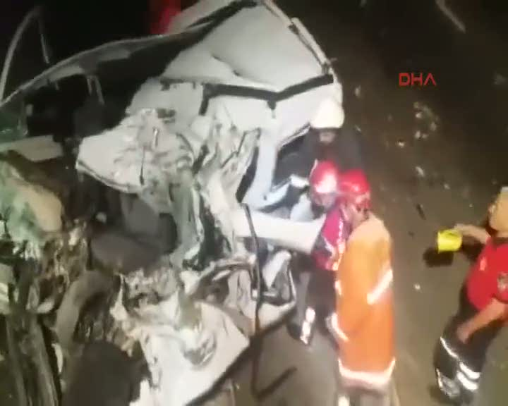 Şanlıurfa'da kaza: 7 ölü