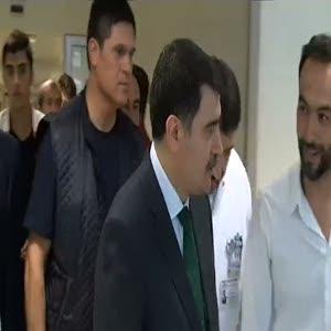 Vali Şahin, darbe girişimi gecesinde yaralananları ziyaret etti