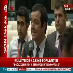 Başbakan, Bakanlar Kurulu sonrasında soruları cevapladı