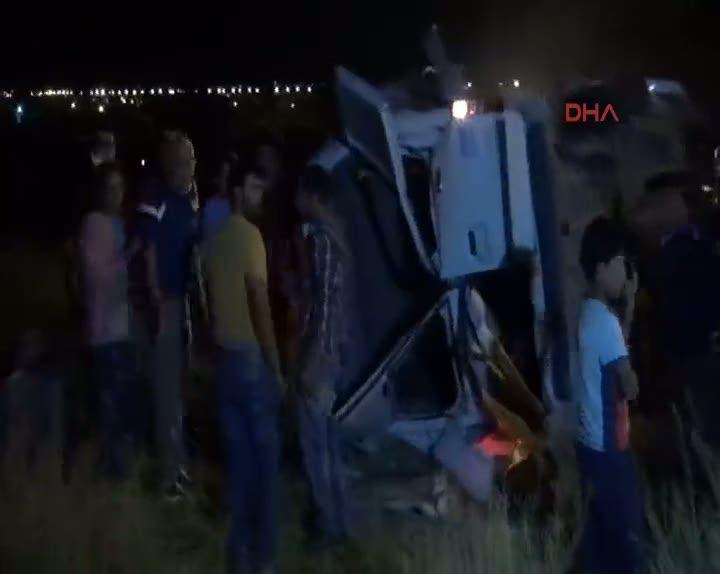 Niğde'de tren kazası: 3 ölü, 13 yaralı
