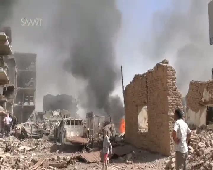 Türkiye sınırındaki Kamışlı'da çifte saldırı: En az 50 ölü