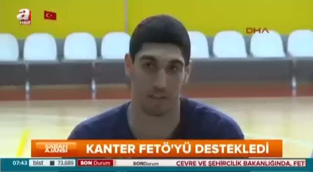 Enes Kanter FETÖ elebaşı Gülen'i övdü