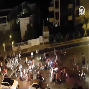 Marmaris'te darbeci askerler tarafından düzenlenen saldırıya ilişkin yeni görüntüler