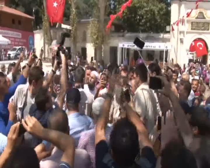 """Ahmet Davutoğlu """"Allah bir daha bize 15 Temmuz gecesi gibi katliamları,acıları yaşatmasın"""""""