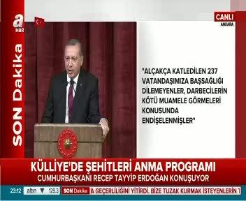 Cumhurbaşkanı Erdoğan: Gelsinler parlamentoyu görsünler