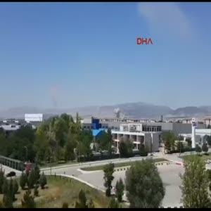 Akıncı Üssü'ndeki pistlerin bombalanmasının yeni görüntüleri  ortaya çıktı