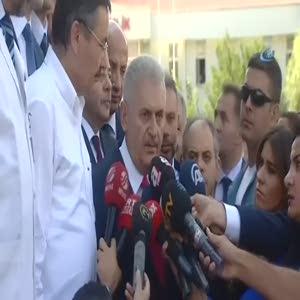 Başbakan Yıldırım ABD'li komutanın skandal açıklamasını değerlendirdi