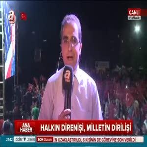 Diyarbakır'da onbinler nöbete devam ediyor