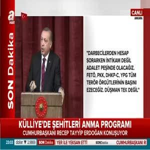 Cumhurbaşkanı Erdoğan: Hükümetin yapacağı şey, bu talebi alıp parlamentoya taşımaktır