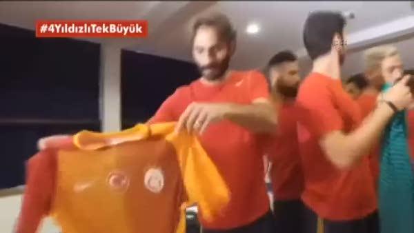 Galatasaray'ın yeni sezon formaları böyle tanıtıldı