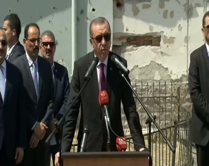 Cumhurbaşkanı Erdoğan'dan ABD'li komutana sert cevap!