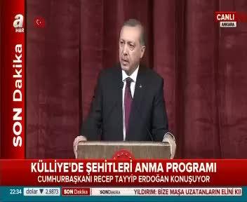 """Erdoğan """"Bunu ancak kafir yapar"""""""