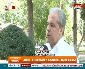 "AK Parti Gaziantep Milletvekili Şamil Tayyar ""ABD Gülen'i iade ettikten sonra özür dilemeli"""