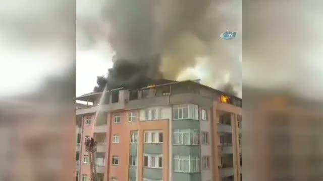 Korku dolu dakikalar: Bomba gibi patladı