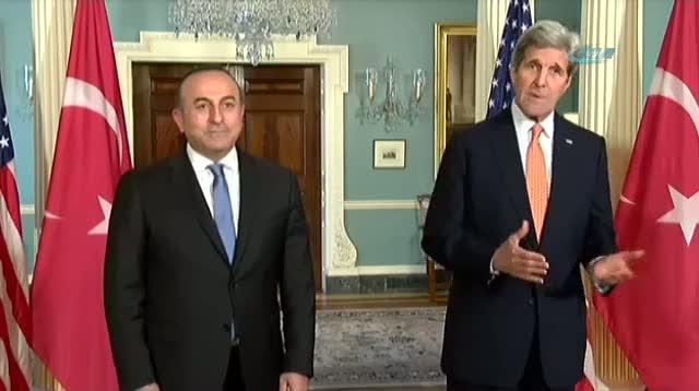 """Kerry açıkladı """"PYD Fırat'ın doğusuna çekiliyor"""""""
