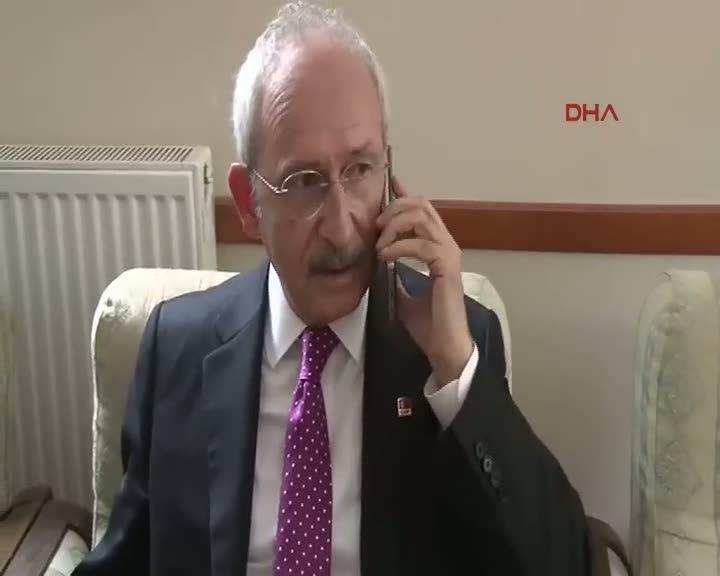 Cumhurbaşkanı Erdoğan Kılıçdaroğlu ile telefonda görüştü