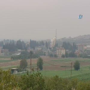Sınır hattında dumanlar yükseliyor