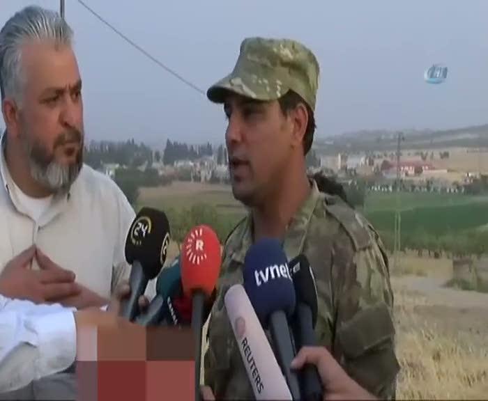 """Suriyeli komutan açıkladı """"Halep'in Kuzey kırsalının tümü..."""""""