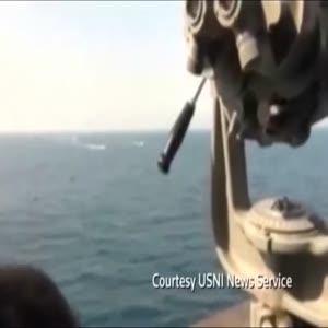 ABD savaş gemisi İran sahil güvenlik teknelerine ateş açtı