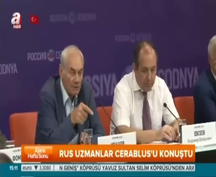 """Rus general """"Cerablus TSK'nın büyük bir başarısı"""""""