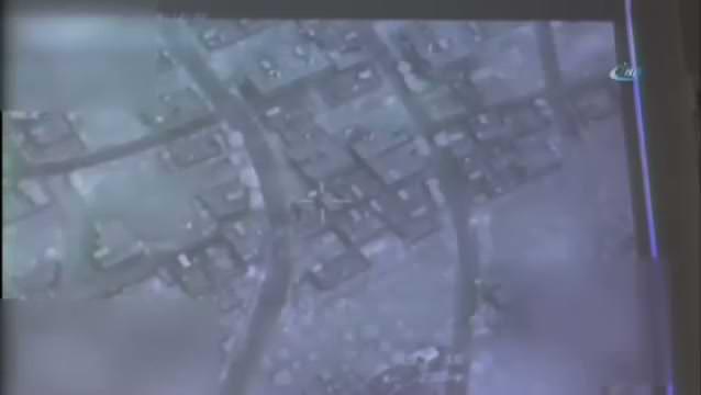 Cerablus'ta teröristlerin komuta yeri imha edildi