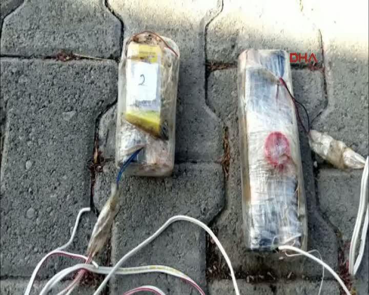 Lice'de PKK'nın tuzakladığı 700 kilo patlayıcı imha edildi