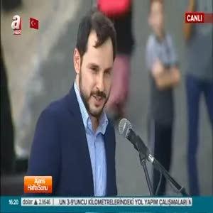 Bakan Albayrak Etnospor Kültür Festivali'nde konuştu