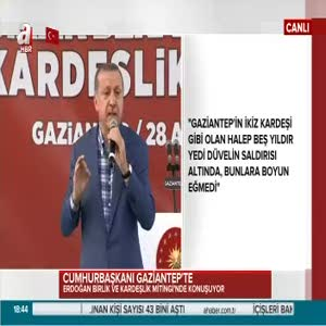 """Cumhurbaşkanı Erdoğan: """"FETÖ'nün PKK ve DAEŞ'ten ne farkı var?"""""""