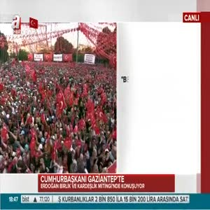 Cumhurbaşkanı Erdoğan: Dünya ile konuşuyoruz: ya o, ya biz