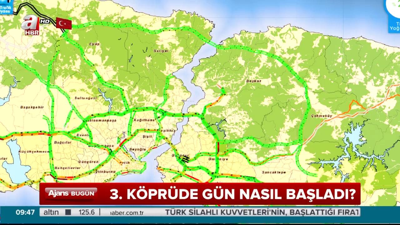 İstanbul 3. köprü ile 'Yemyeşil'!