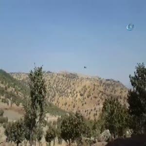 Şemdinli'de çatışmanın ardından hava hareketliliği
