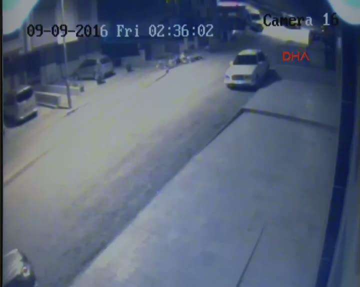 Ankara'da traktör hırsızlığı güvenlik kameralarına yansıdı