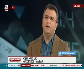Cem Küçük  Moody's'in Türkiye kararını yorumladı