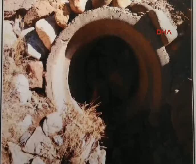 Tunceli'de 350 kilogramlık patlayıcı imha edildi