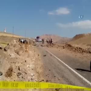Mardin'de patlama: 3 şehit, 7 yaralı