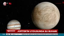 Jüpiter'in uydusunda su buharı
