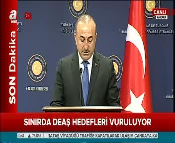 Dışişleri Bakanı Mevlüt Çavuşoğlu ve Boris Johnson soruları cevapladı