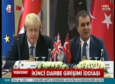 İngiliz Bakan'dan 'İkinci Darbe Girişimi' iddiasıyla ilgili flaş açıklama