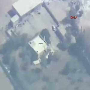 Milli bomba HGK-1, DEAŞ hedeflerini vurdu