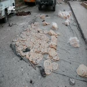 Halep'te ekmek beklerken öldüler