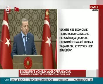 """Erdoğan """"Bunlara ver parayı al notu!"""""""