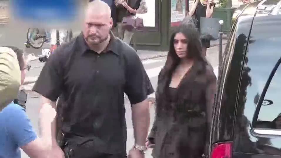 Kim Kardashian'ı taciz eden adamın sonu