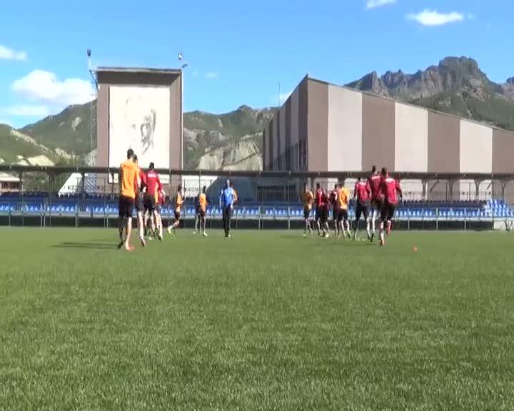 Dersimspor, Galatasaray maçına hazırlanıyor