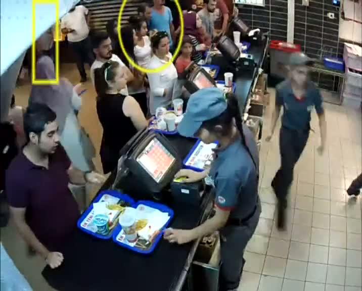 Hırsızlık anı güvenlik kamerasına yansıyan zanlı güven timlerinden kaçamadı