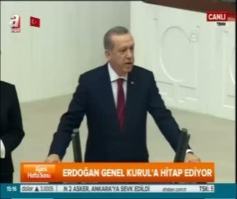 """Cumhurbaşkanı Erdoğan """"15 Temmuz'u unutursanız resimlerine bakın"""""""