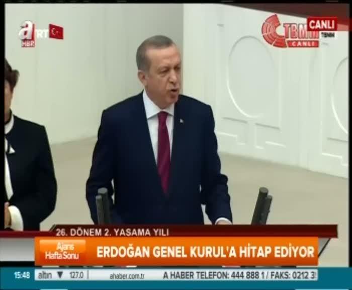 """Cumhurbaşkanı Erdoğan """"Diplomatik cambazlığın anlamı yok"""""""