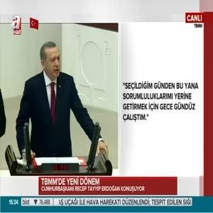 """Cumhurbaşkanı Erdoğan """"Suriye bizim için hayati bir konu durumundadır"""""""