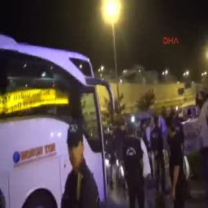 Beşiktaş İstanbul'a gitti
