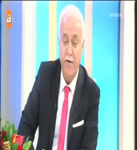 """Nihat Hatipoğlu """"Azgınlık yaşı değil ki"""""""