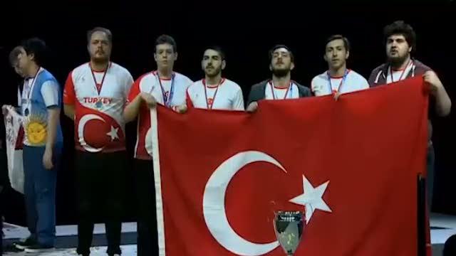 Türk Milli takımımız dünya şampiyonu oldu